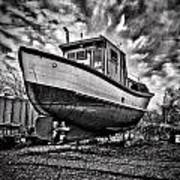 Dry Dock Art Print