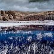 Dry Lagoon Blues Art Print