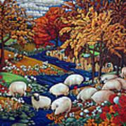 Dry Run Creek Art Print