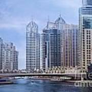 Dubai Marina Art Print