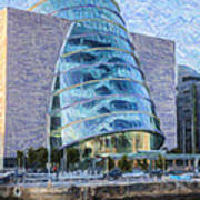 Dublin Convention Centre Republic Of Ireland Art Print