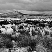 Dublin Mountains In Winter Ireland Art Print by Jo Collins