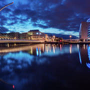 Dublin - Samuel Beckett Bridge Art Print