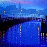 Dublin Starry Nights Art Print