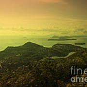 Dubrovnik Islands  Art Print