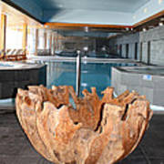 Dubrovnik Palace Pool Art Print