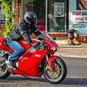 Ducati 748 Art Print