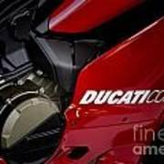 Ducati-unplugged V9 Art Print