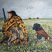 Duck Hunters Art Print