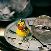 Duck The Hour Art Print