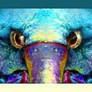 Duckeaglebird Art Print