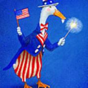 Ducky Doodle Dandy... Art Print by Will Bullas