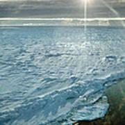 Due South 1.30am Ross Sea Art Print