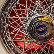 Duesenberg Wheel Art Print