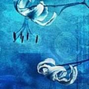 Duet - Blue03 Art Print