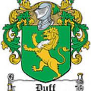 Duff Coat Of Arms Dublin  Art Print