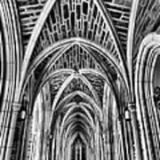 Duke Chapel Arches Art Print