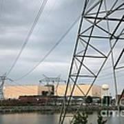 Duke Energy Mcguire Nuclear Energy Station Art Print