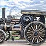 Duke Of York Traction Engine 4 Art Print