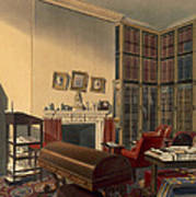 Dukes Own Room, Apsley House, By T. Boys Art Print