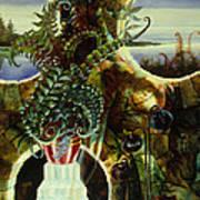 Duluth Garden Art Print