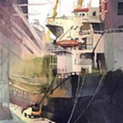 Duluth Harbor Art Print