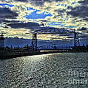 Duluth Lift Bridge Art Print