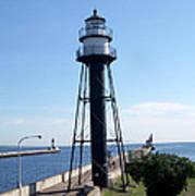 Duluth Mn Lighthouses  Art Print