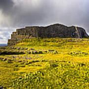 Dun Aonghasa - Iron Age Irish Ruins Print by Mark E Tisdale