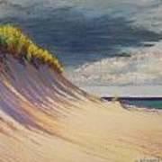 Dune Crest Art Print