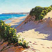 Dunes Central Coast Art Print