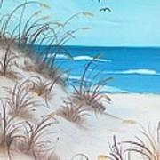 Dunes Day Art Print
