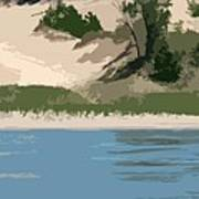 Dunes Of Lake Michigan Art Print
