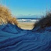 Dunes Sand Art By Mother Nature 2/08 Art Print