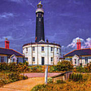 Dungeness Old Lighthouse Art Print