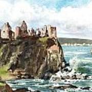 Dunluce Castle Antrim N I Art Print