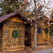 Dunwoody Farmhouse Cabins Art Print