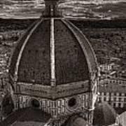 Duomo Dalla Campanile  Art Print