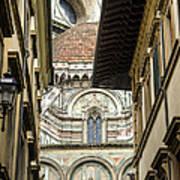 Duomo In Firenze Art Print