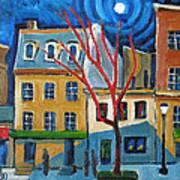 Dupont Circle Connecticut Avenue Art Print