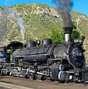Durango To Silverton Train Art Print