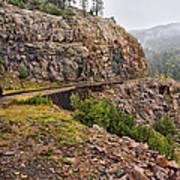 Durango Train To Silverton Dsc07599 Art Print