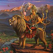 Durga Ma Art Print