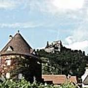 Durnstein Castle Art Print