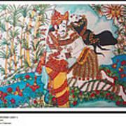 Dushyant-shakuntalum-love-1 Art Print
