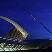 Dusk At The Calatrava Art Print