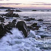 Dusk At West Quoddy Head Light Art Print