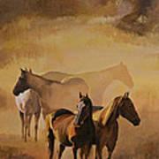 Dust Bowl Art Print