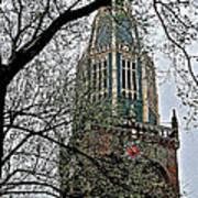 Dutch Reformed Church Tower In Enkhuizen-netherlands Art Print