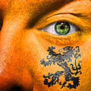 Dutch Royal Lion Art Print
